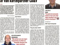 N-VA scheurt zich in 2018 af van kartelpartner CDV
